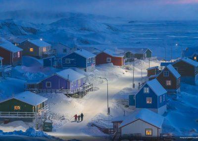 City 001 Greenlandic winter Weimin Chu
