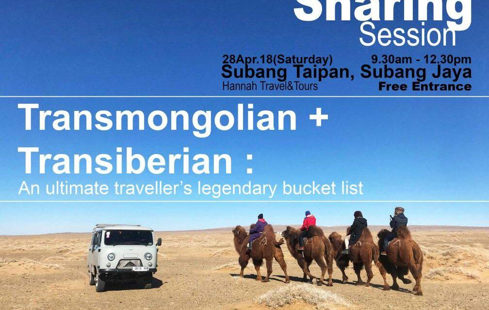 Phototalk: Transmongolia & Transiberia oleh Jidin