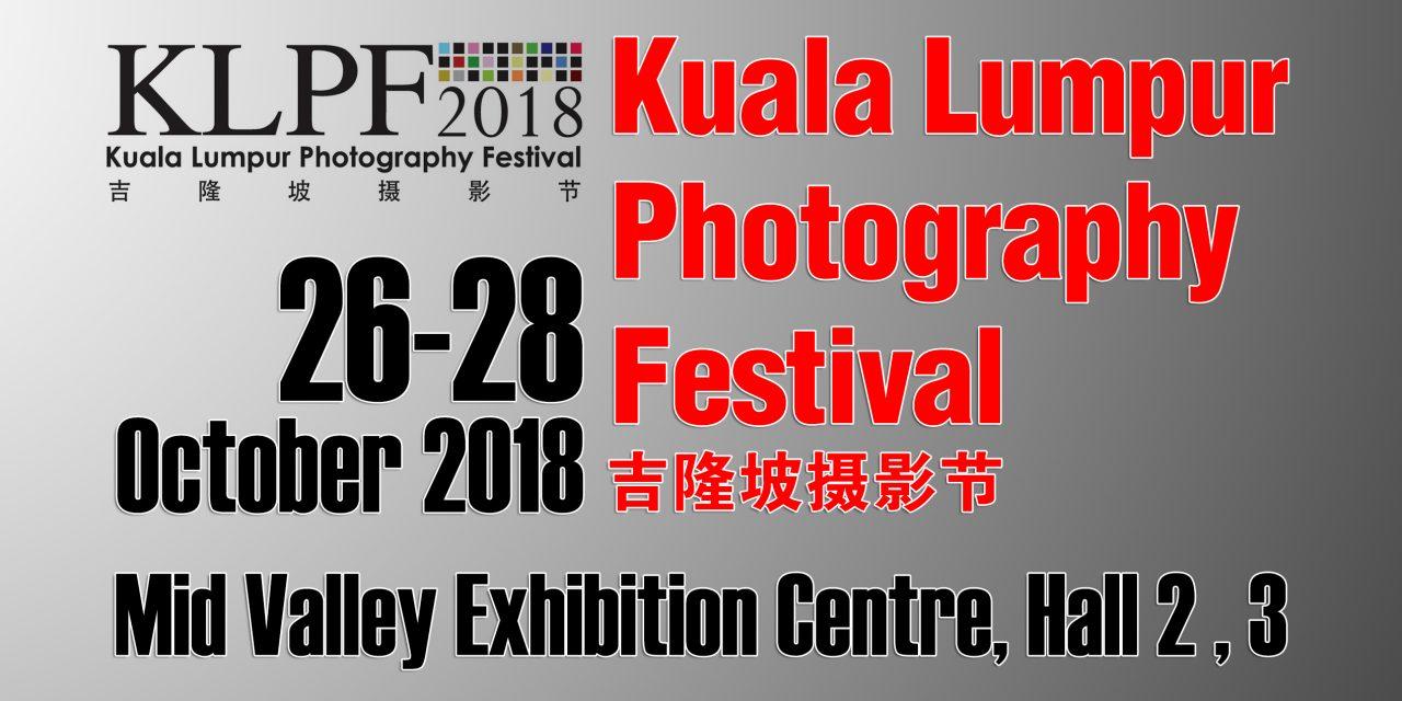 KLPF 2018; dari 26 sehingga 28 Okt 2018