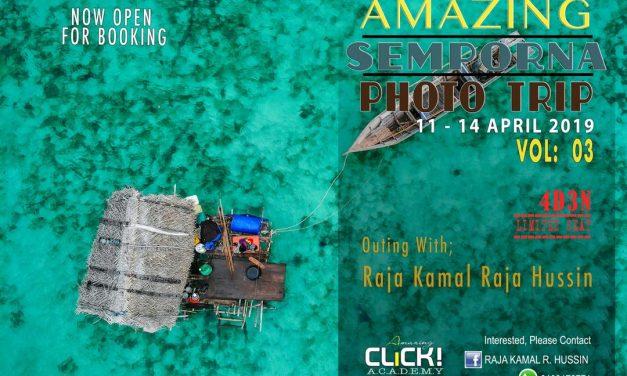 Raja Kamal – Foto Trip ke Pulau Semporna Sabah